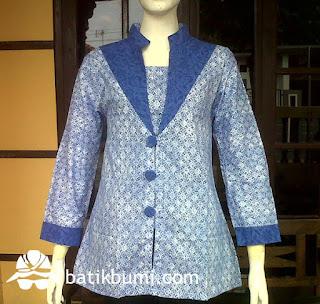 blouse batik solo