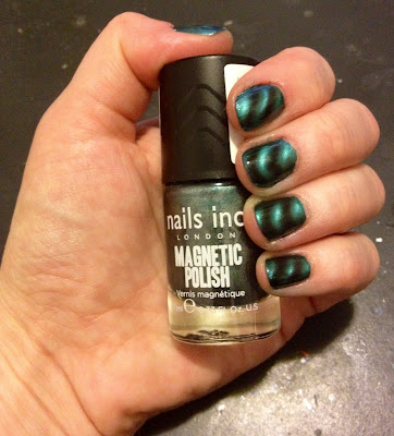 Nails Inc., Nails Inc. Magnetic Polish, Nails Inc. Whitehall Magnetic Polish, Nails Inc. nail polish, Nails Inc. mani, Nails Inc. manicure, mani, manicure, mani of the week, manicure of the week, magnetic polish, magnetic nail polish, nail, nails, nail polish, polish, lacquer, nail lacquer