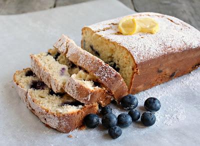 Lemon Blueberry Ricotta Bread