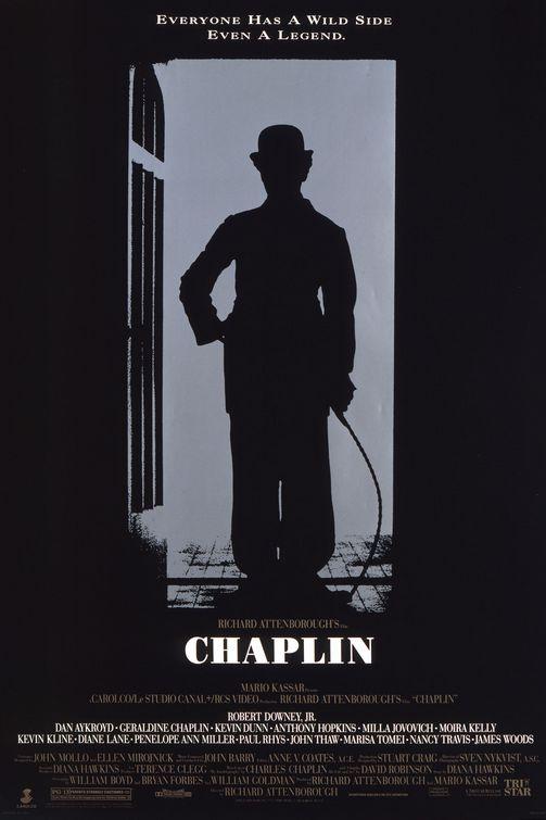 Chaplin 1992 movie poster