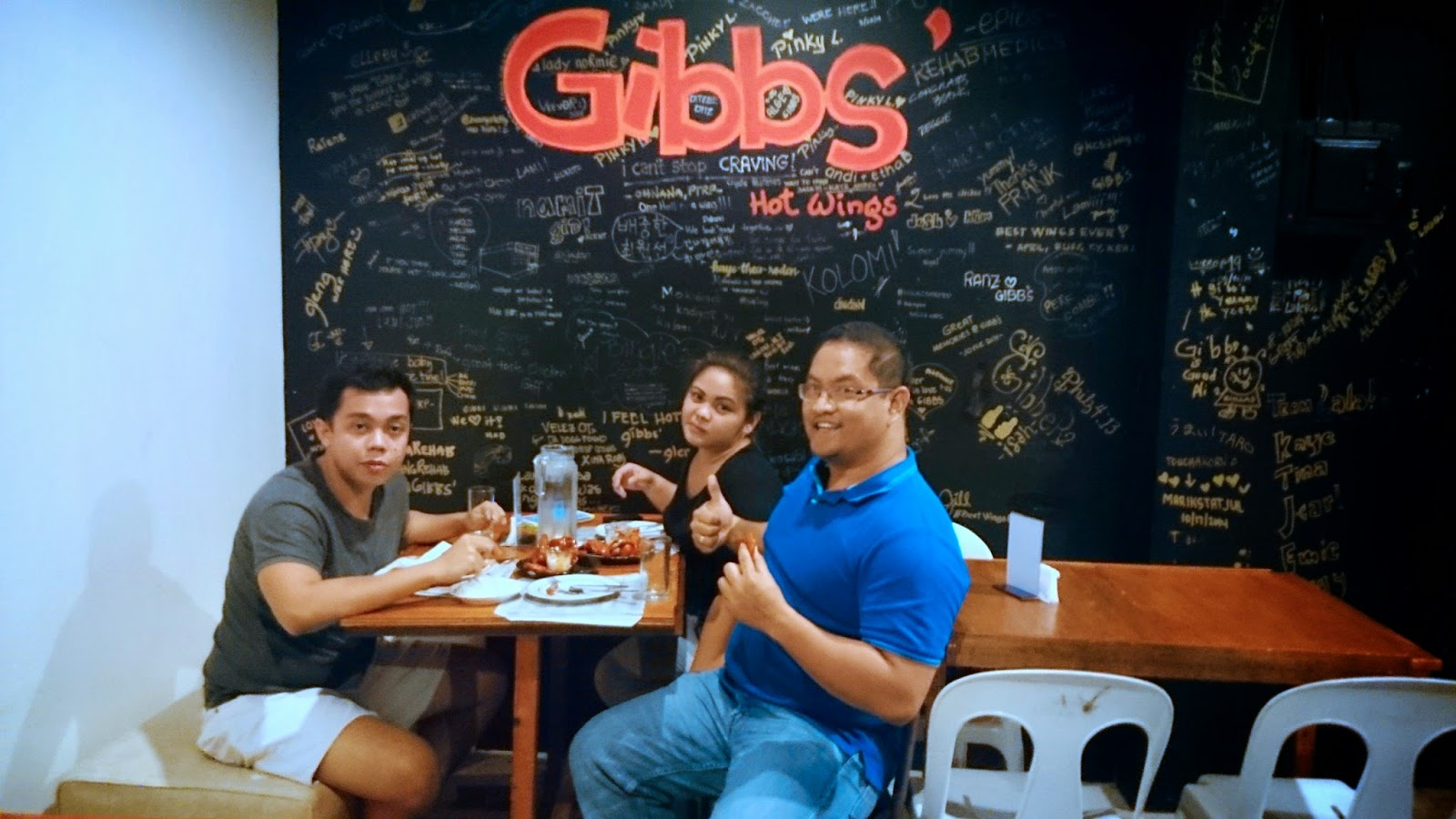 Rainmakers of Cebu at Gibb's Hot Wings