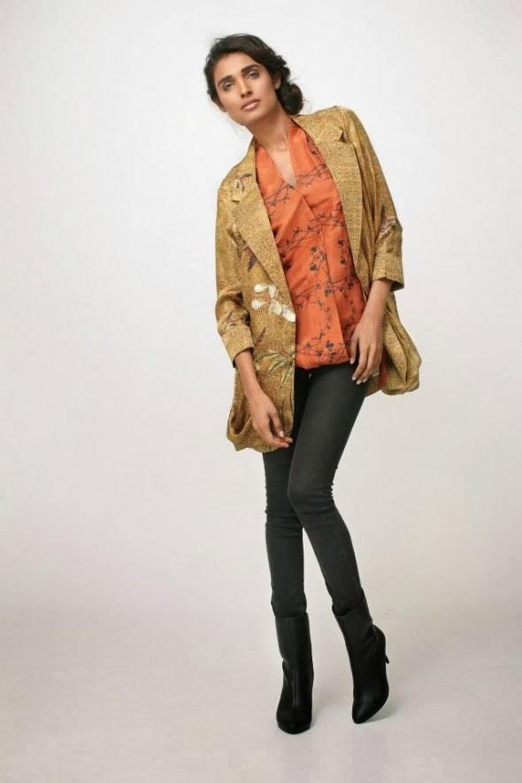 Nida Azwer New Beautiful Winter Jackets 2014 For Women