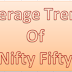 Avearage trend for Nifty 50 update on 05 Aug 2015