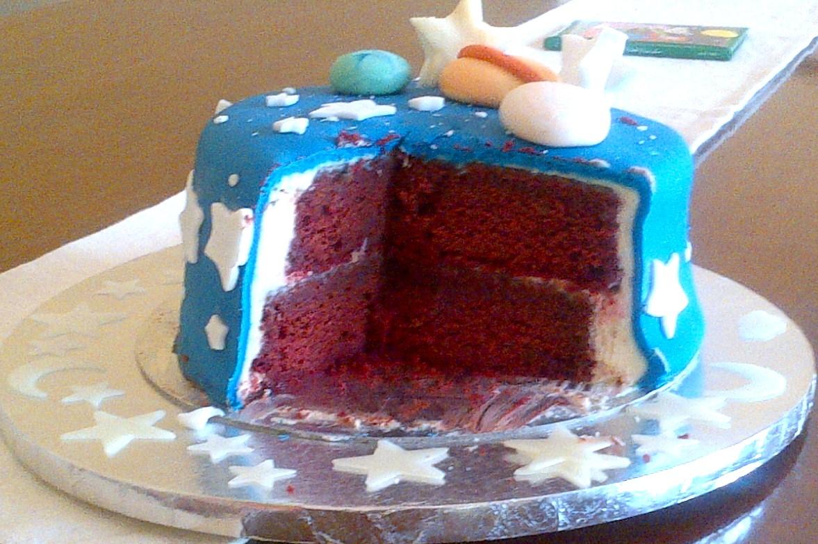 Birthday Cake Outer Space And Alien Theme Monkey Kitchen