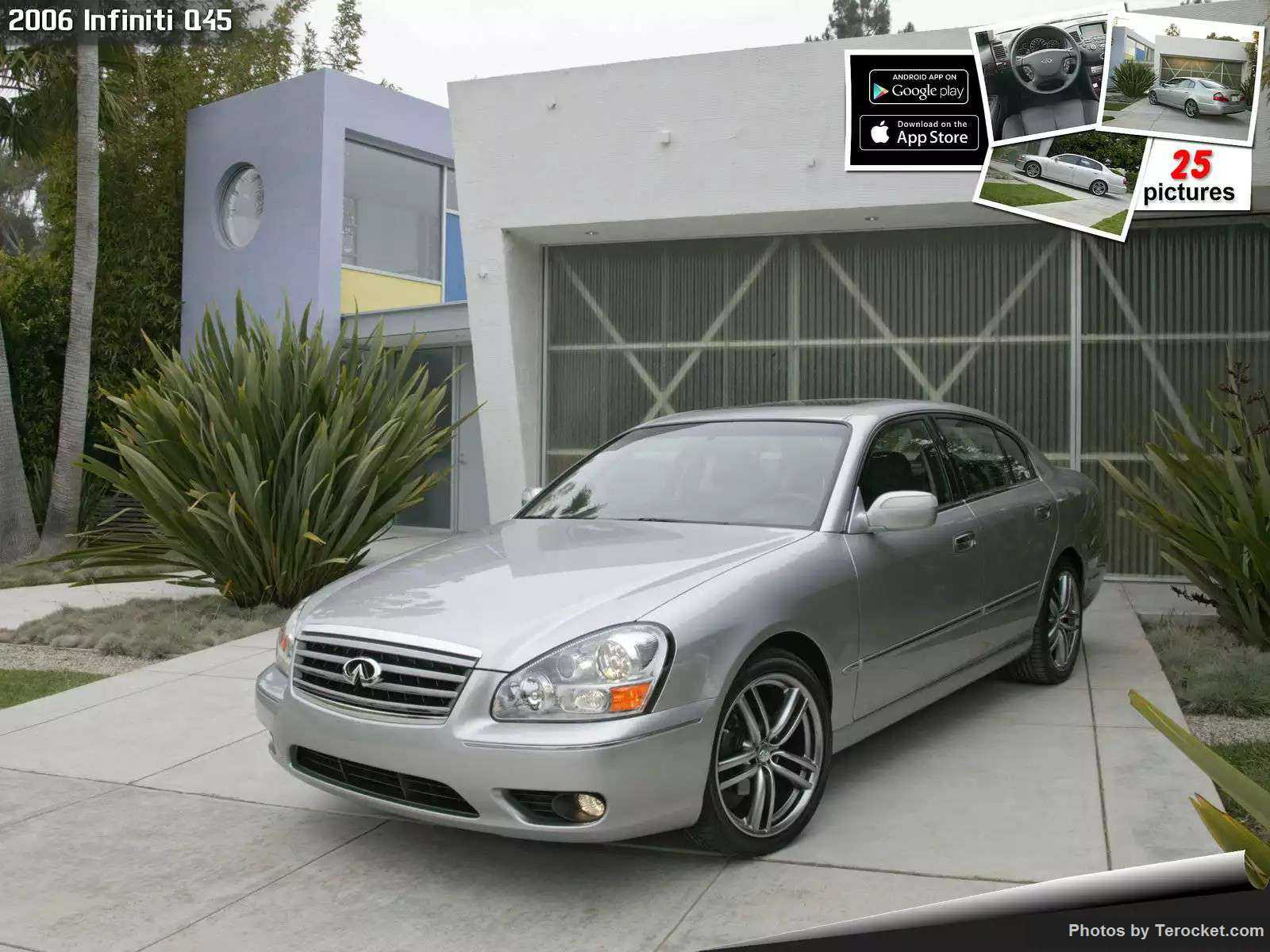 Hình ảnh xe ô tô Infiniti Q45 2006 & nội ngoại thất