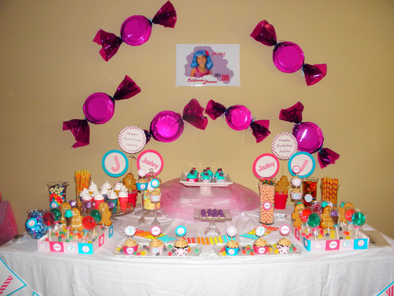 Lollipops paper katy perry inspired candyland birthday