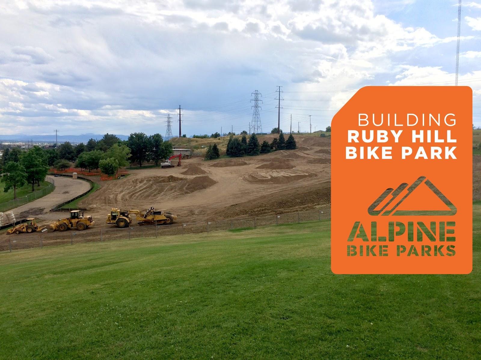 Alpine Bike Parks The Ruby Hill Bike Park Denver Colorado