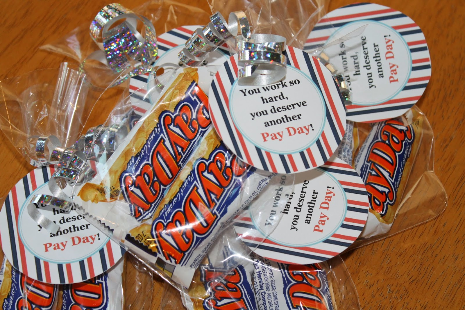 Payday Candy Bar Sayings Coffee beans and kisses: teacher appreciation ...