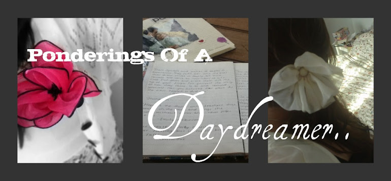 Ponderings Of A Daydreamer..