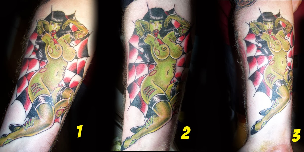 Healing Tattoo Stages This tattoo rocks!