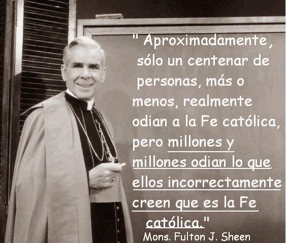 El odio a la fe católica...