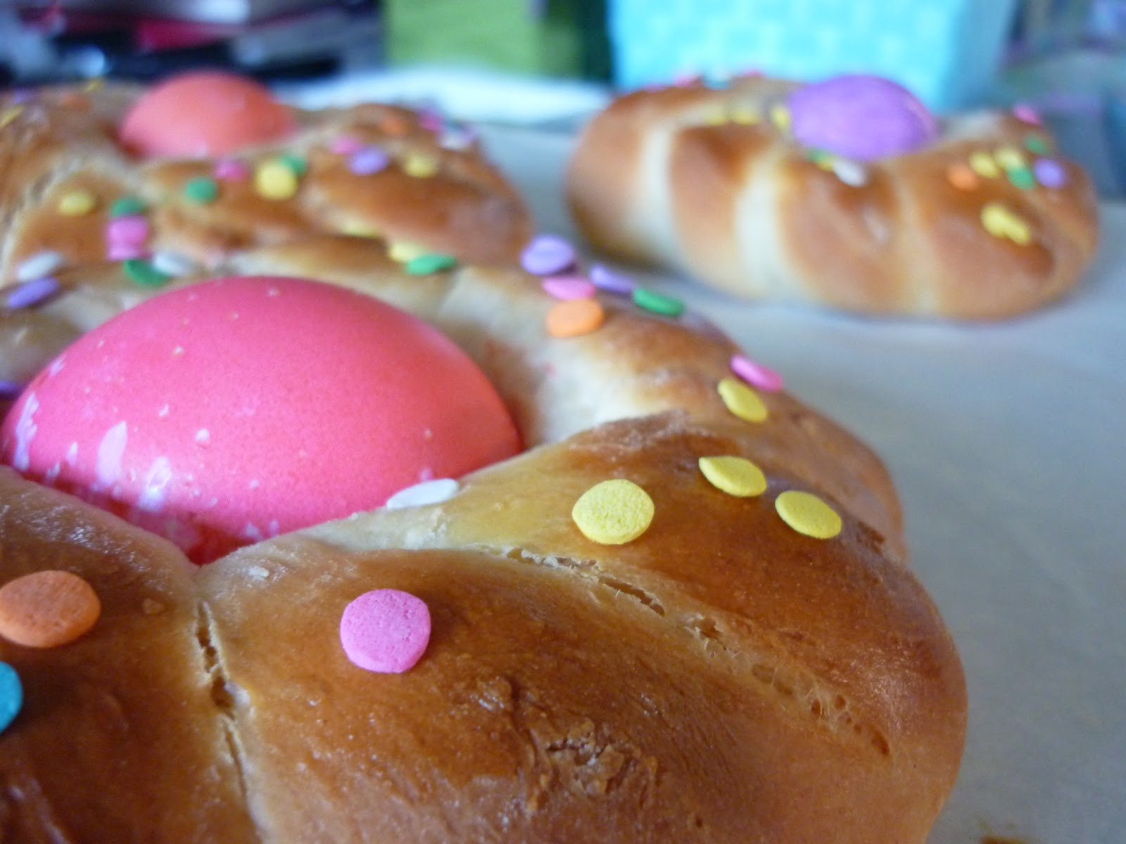 The Nerdy Chef Easter Bread