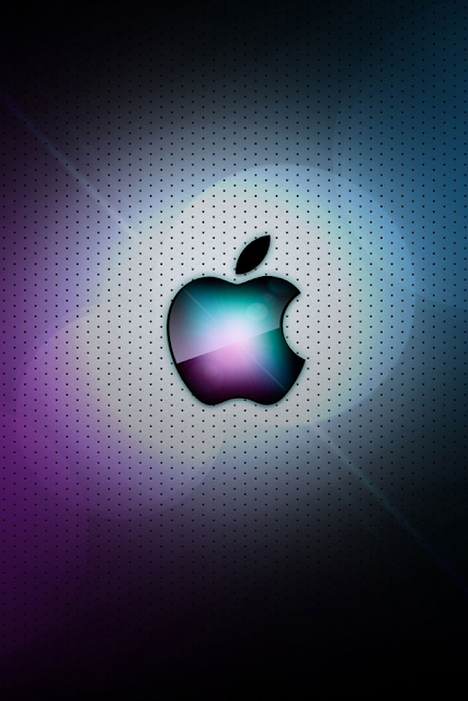 Awesome Apple Logo iPhone Wallpaper By TipTechNews.com