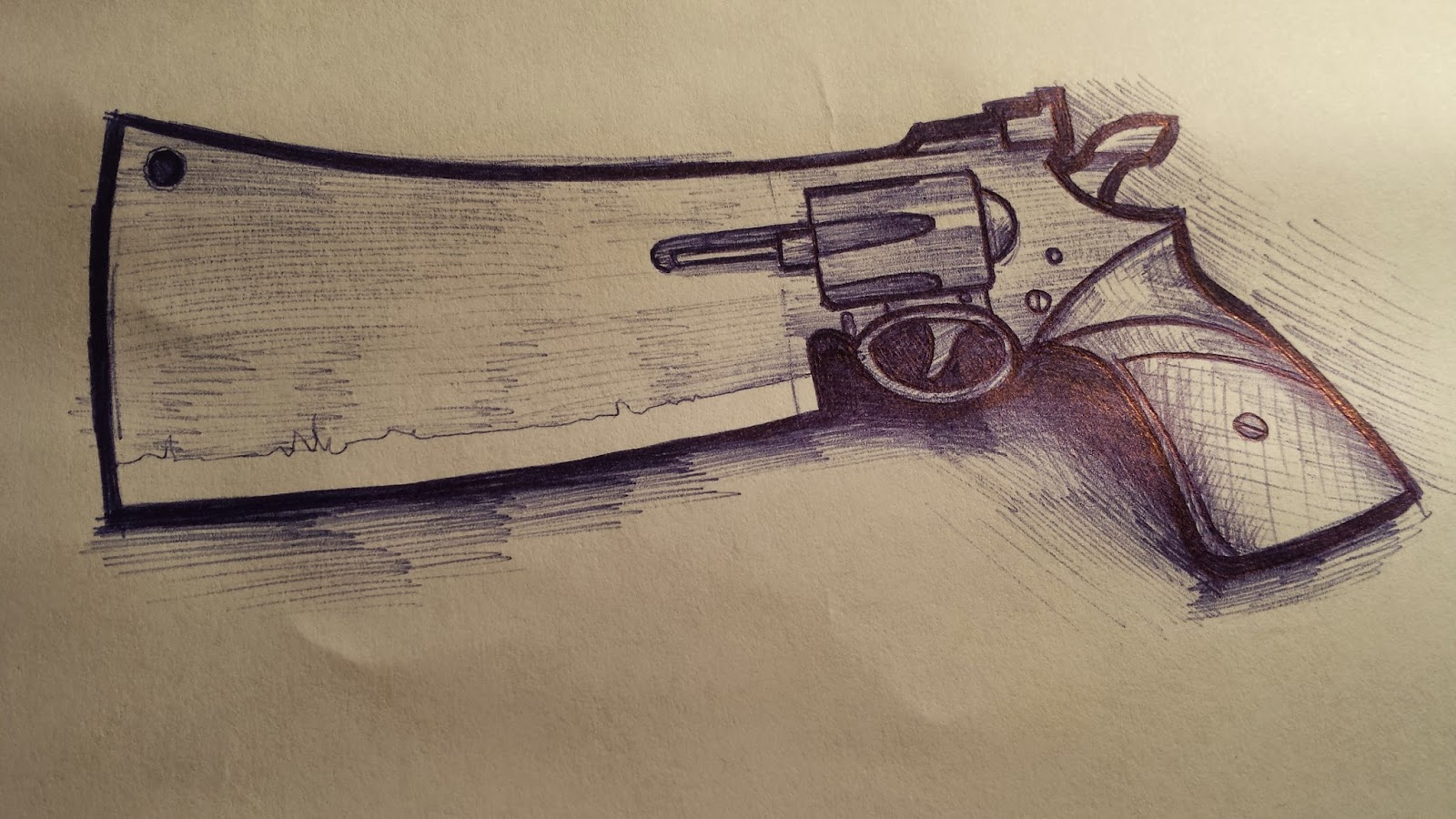 Gunblade Drawings and Designs 1