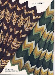 Vintage Ripple Afghan Knitting pattern