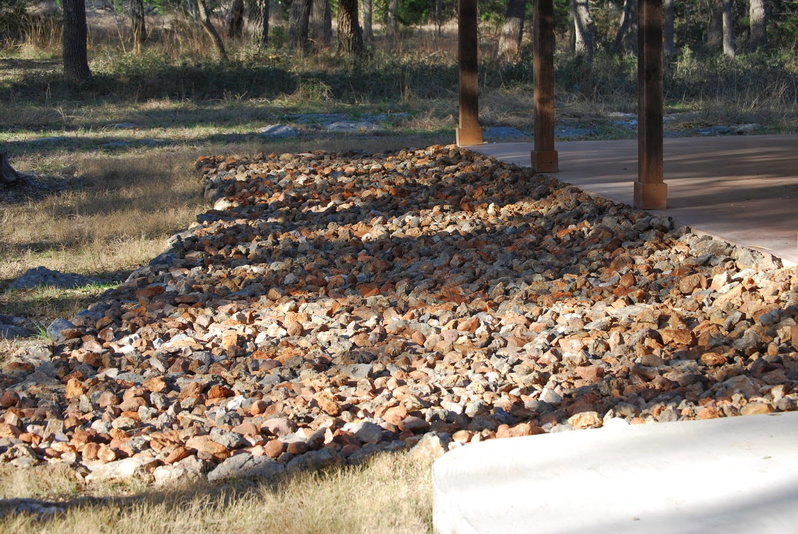I 39 m going to texas rock on gardening in the hill country for Landscaping rocks midland tx