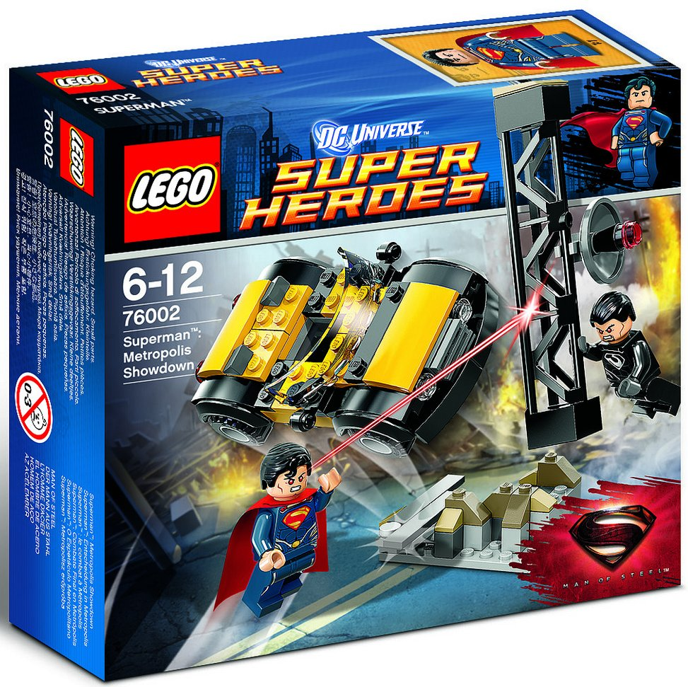 76002 superman metropolis showdown