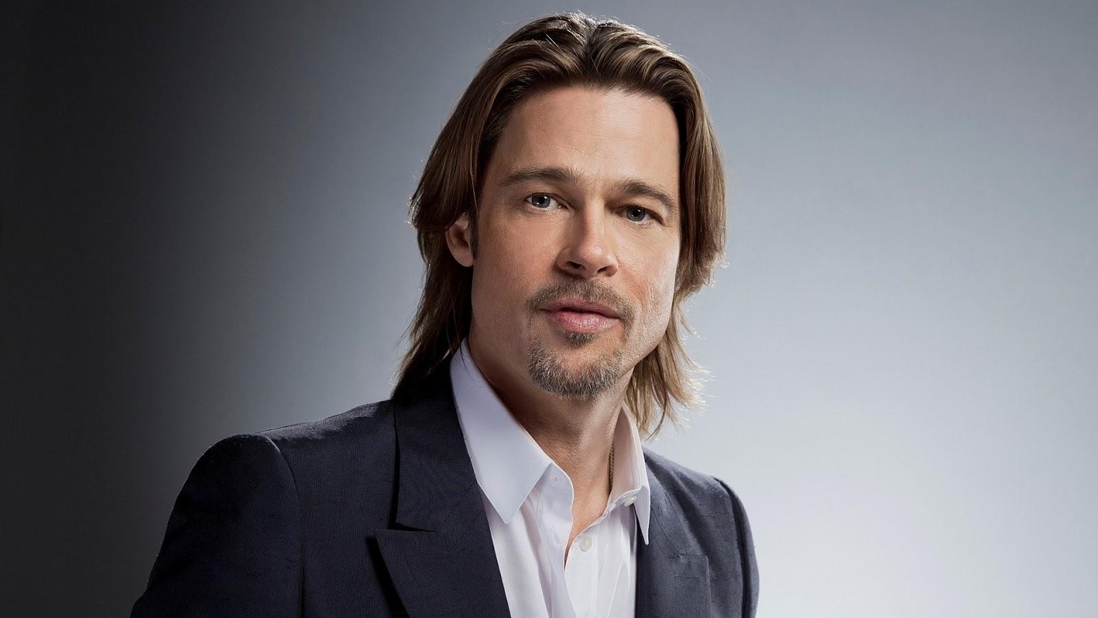 Famous Actor Brad Pitt