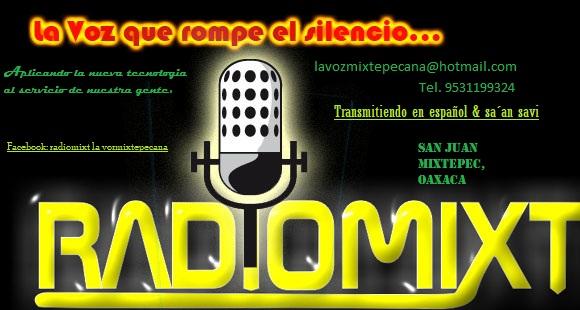Radio de san juan mixtepec