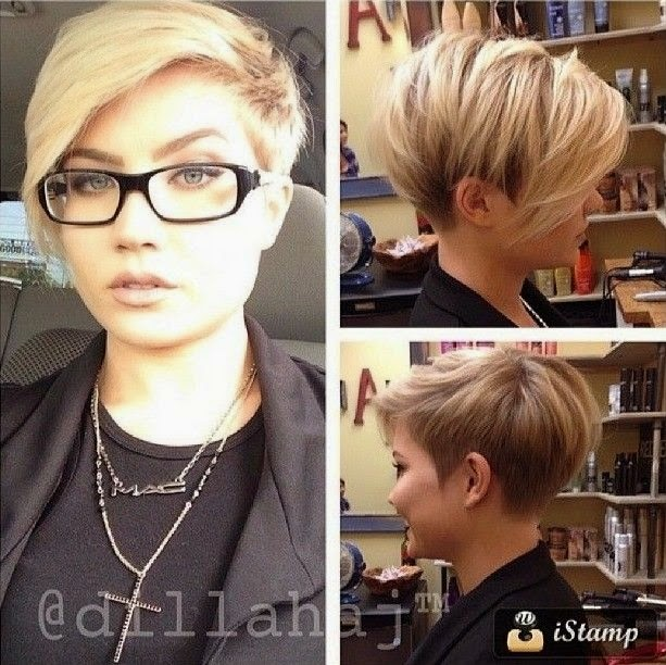 Cute short haircuts cute sexy short sleek haircuts 2015 sexy short hairstyle 2015 with one side short and the other side longer winobraniefo Images
