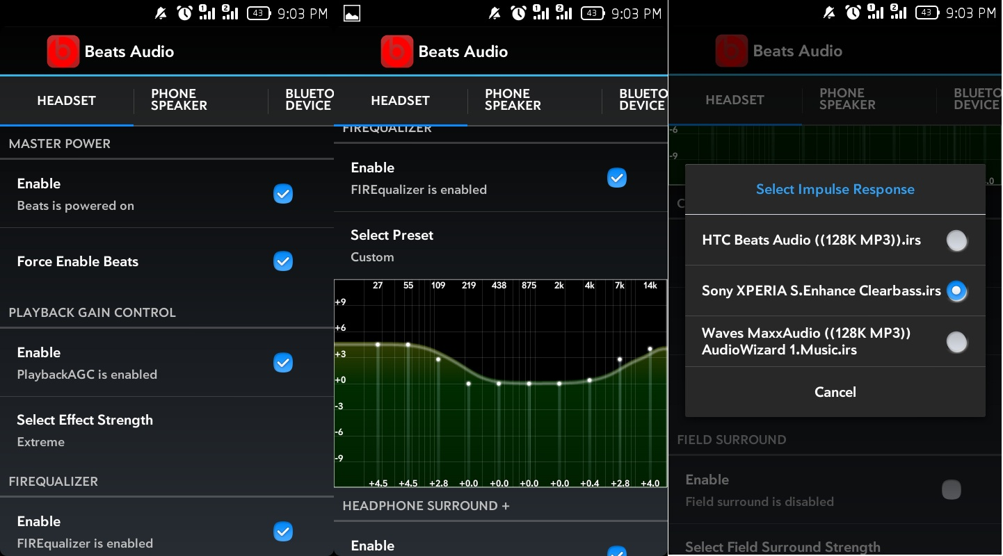 Beats Audio v4 - Audio Enchancment for Android