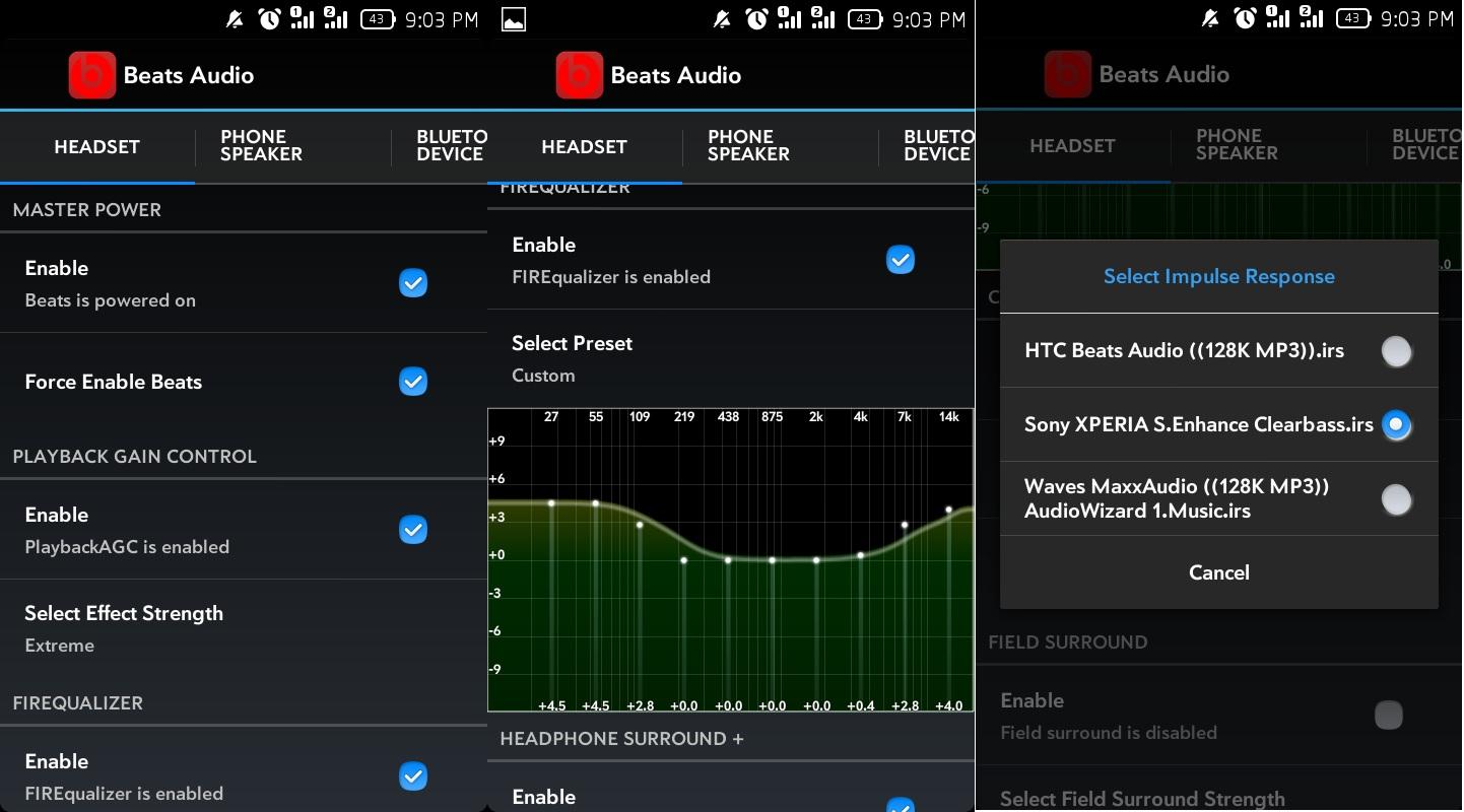 Beats Audio v4 - Audio Enchancment for Android
