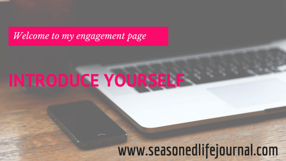 seasoned life, engagement page