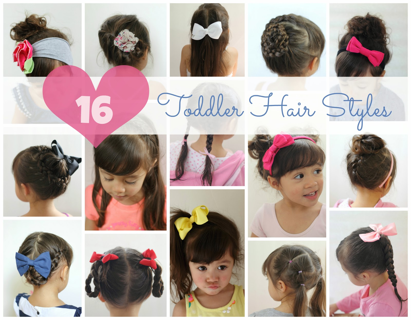 Make It Cozee 16 Toddler Hair Styles