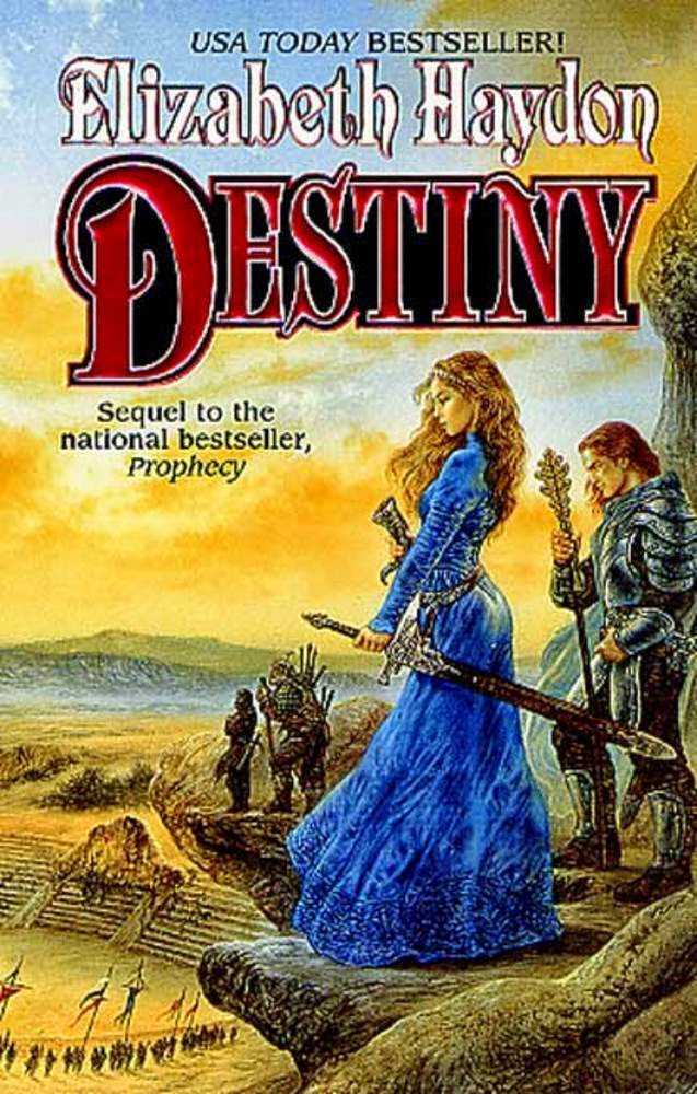 Epic Fantasy Book Review of Destiny: Child of Sky: by Elizabeth Haydon (Rhapsody Trilogy: Symphony of Ages: Book 3)