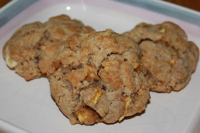 apple walnut cookies