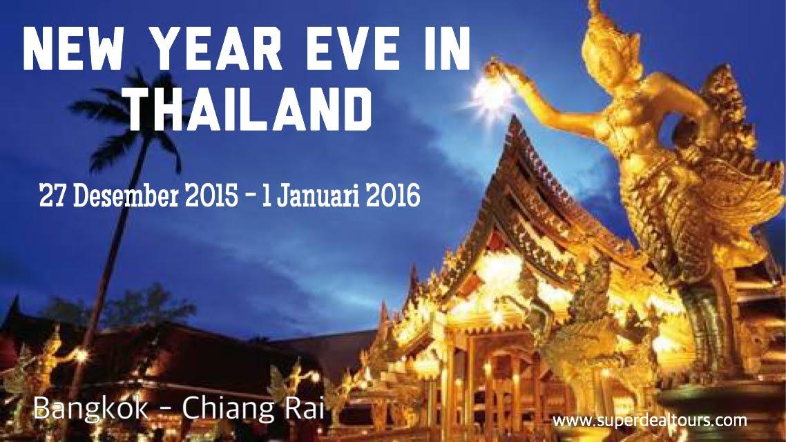 Thailand 27 Desember 2015 - 1 Januari 2016
