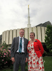 Provo Temple with Sister Richards