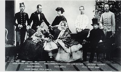 Retrato de familia. Una foto de 1861