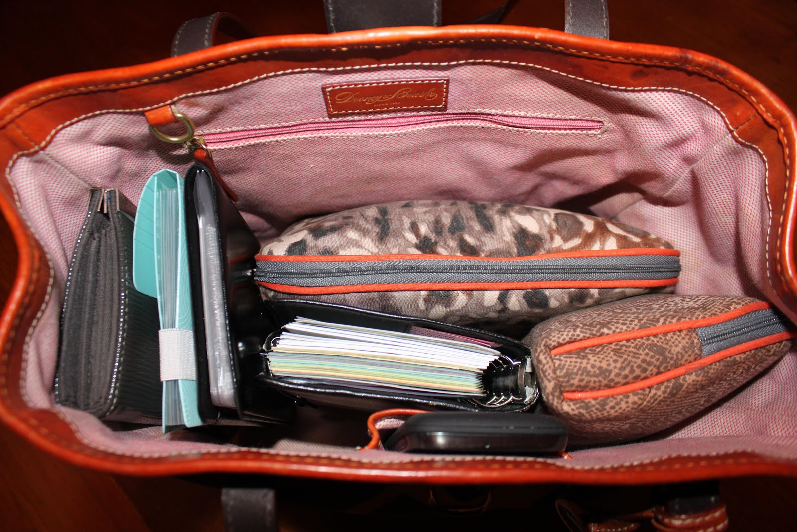 My great challenge how to organize your purse - Small space bags ideas ...