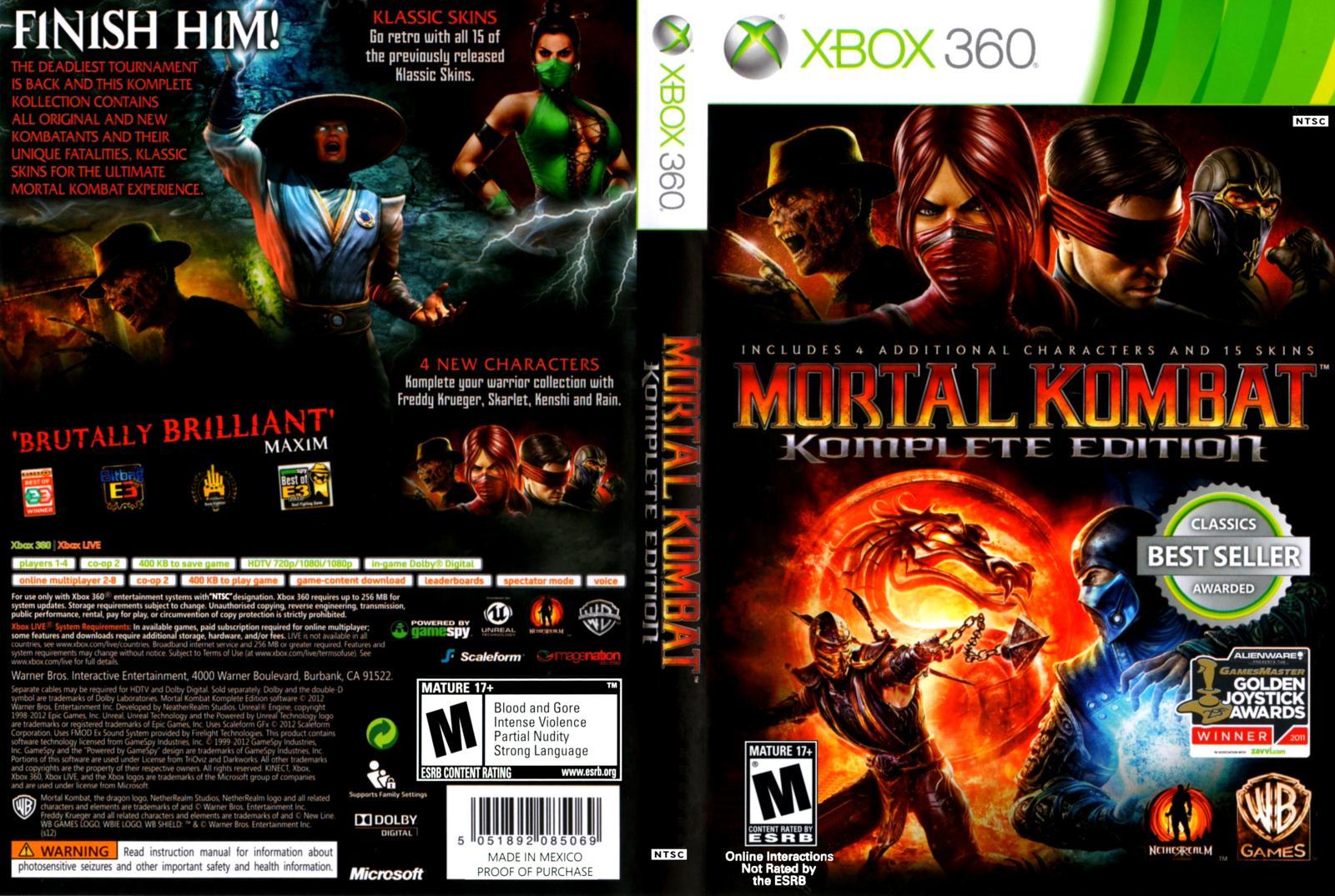 Mortal kombat komplete edition nudity adult photo