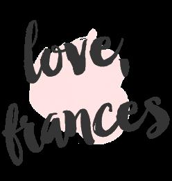 Love,Frances