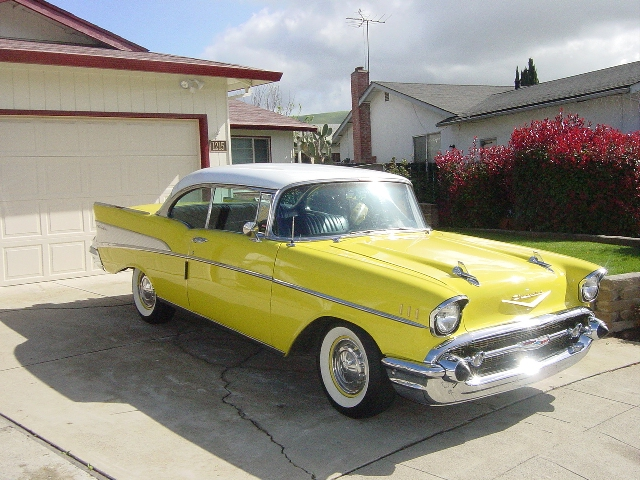 1957 Chevy Nomad Station Wagon For Sale likewise 1957 Chevy Yellow also 1955 Chevy Bel Air 2 Door Hard Top FRAME OFF Resto 4WPDB PS AC V8 Air in addition 1962 Chevy Impala Project Car moreover 1955 Chevy Station Wagon 2 Door. on 1955 chevy bel air