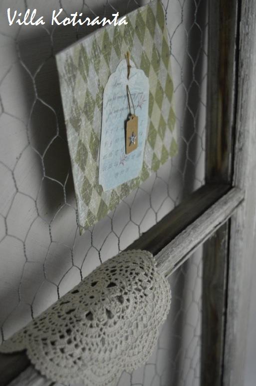 DIY: Kehykset ikkunapokista