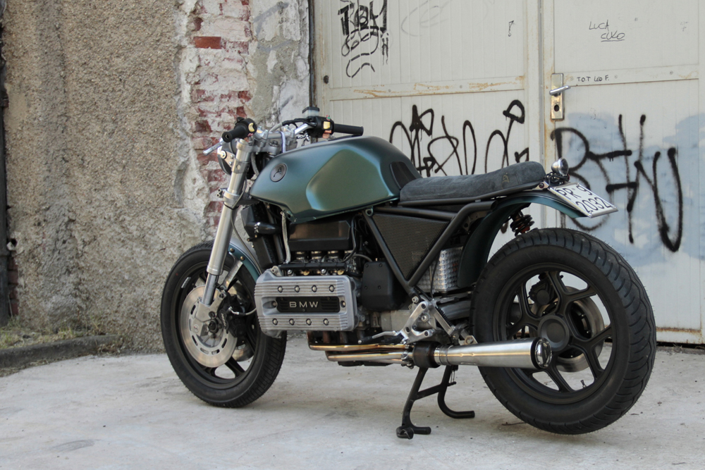 Populaire Moto Sumisura BMW K100 ~ Return of the Cafe Racers BI89