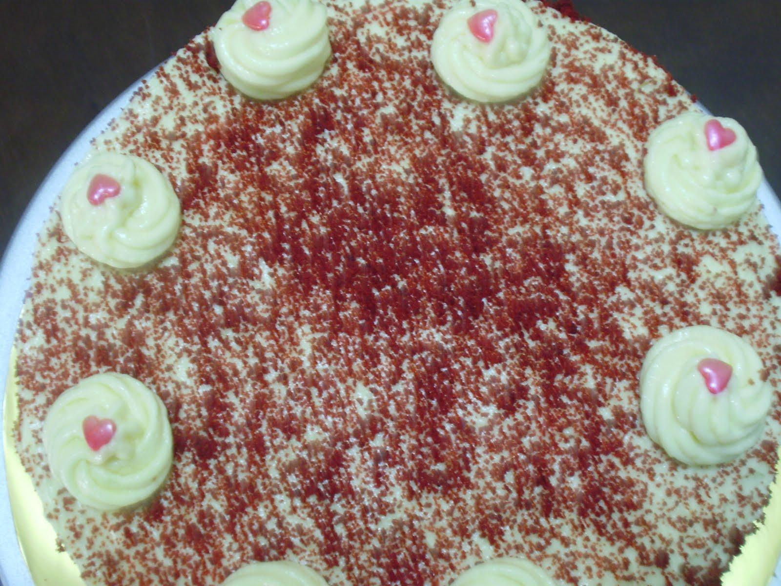 KELAS RED VELVET CAKE