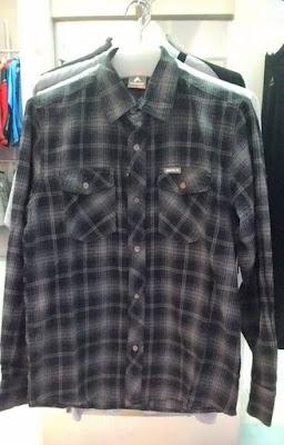 baju atasan Flanel Eiger Original Murah 200rban