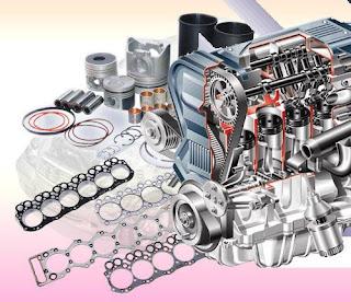 اجزاء محرك السيارة