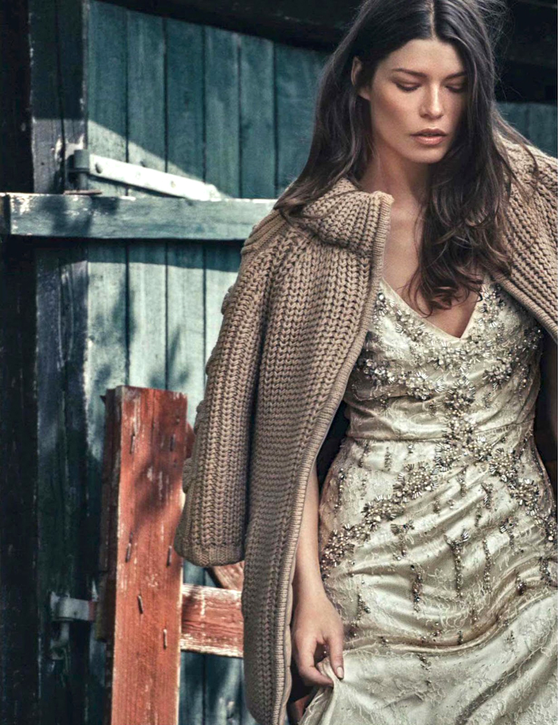 Louise Pedersen in Glamour Italia September 2014 (photography: Signe Vilstrup, styling: Simone Guidarelli) via fashioned by love