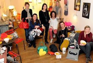Article de La Provence sur les créatrices aixoises dont pcmcreation