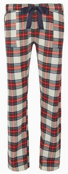 Pantalones de pijama a cuadros de Primark para mujer