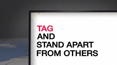 LG TAG & Stand Apart