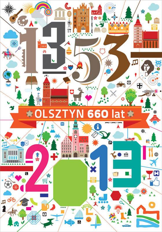 660 lat Olsztyna - pokonkursowa wystawa plakatu