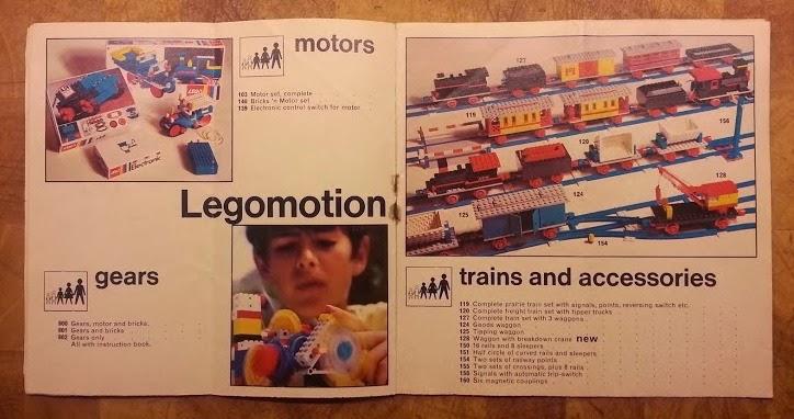 Lego 1970's Legomotors Technic