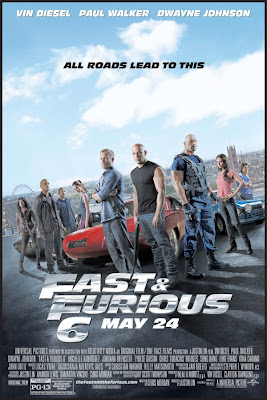 Fast & Furious 6 2013 film movie poster