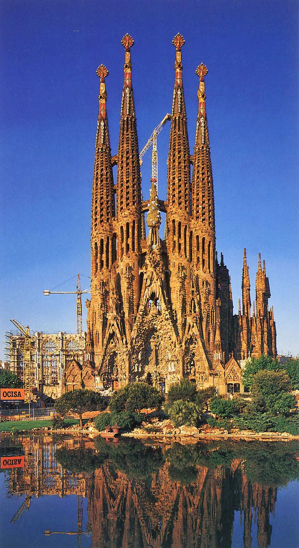 Wszystko o turystyce katalonia for De la sagrada familia